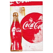 Coca Cola Pop Art stampa su tela