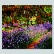 Tela Claude Monet The Garden of Giverny