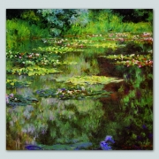Tela Claude Monet Water lilies